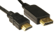 3 Meter Display Port To HDMI Components