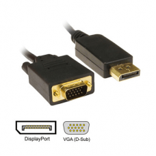Display port to VGA 3 metre Components