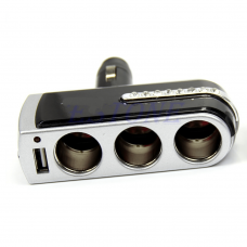 3 Port USB Car Adapter USB 2 Components