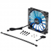 120mm Blue Aerocool Shark Quad LED Fan Case Fans