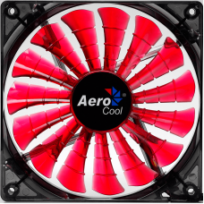 120mm Red Aerocool Shark Quad LED Fan Case Fans