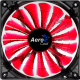 Powercool Glacier Series 12cm Quad LED Red Fan Case Fans
