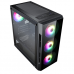 Flash Gaming Matx Case 4x ARGB fans TG Front and Side Panels EPE Cases