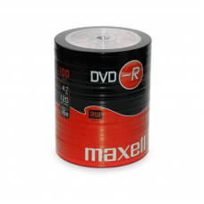 100PK Maxell 16x DVD-R Media DVD Media And Accessories
