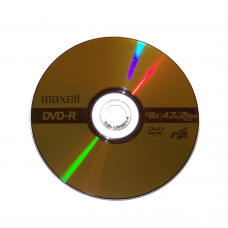 10PK Maxell 16x DVD-R Media DVD Media And Accessories