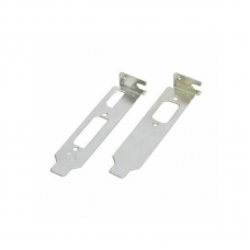 Palit Low Profile Graphics Card Brackets (x2), 1 for VGA, 1 for HDMI & DVI Graphics Cards