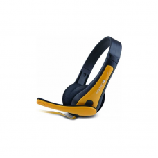 Canyon HSC-1 Black and Yellow Headset with Mic Headsets