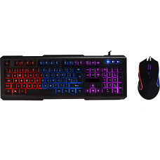 CiT Avenger Illuminated keyboard & Mouse 3 Colour Keyboards