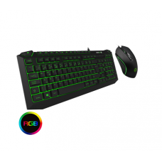Pulse Kit 7 Colour RGB Keyboard with Pulsing Mouse Keyboards