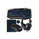 Game Max Raptor RGB Keyboard & Mouse Black Keyboards
