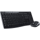 Wireless Keyboard & Mouse Multimedia Logitech MK270 Keyboards