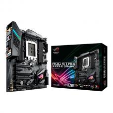 X399 - Asus ROG STRIX X399-E GAMING, AMD X399, TR4, EATX, 8 DDR4, Xfire/SLI, Wi-Fi, RGB Lighting Motherboard AMD