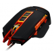 Canyon Wired 9 Button USB LED Gaming Mouse With Adjustable DPI - Black / Orange - CND-SGM6N Mouse