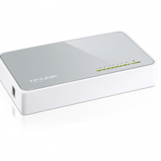 8 Port 10-100 Switch - TP-Link - TL-SF1008D Desktop Networking Wired
