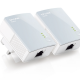 500Mbps Mini Powerline Adapter - TP-LINK - TL-PA411KIT -  10-100 Starter Kit Components