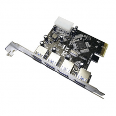 USB 3.0 internal PCI card Components