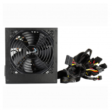 850W PSU Aerocool Integrator 12cm Black Fan Active PFC TW Caps UK Cable Power Supplies