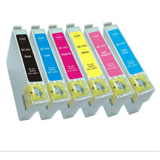 Epson T0481/T0482/T0483/T0484/T0485/T0486 Single Cartridges Printer Cartridges