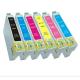 Epson T0481/T0482/T0483/T0484/T0485/T0486 Single Cartridges Printer Cartridges