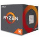 Ryzen 5 3400G 4C/8T, 3.7 GHz base, 4.2 GHz turbo Processor AMD
