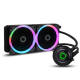 Game Max Iceberg 240mm Water Cooling System with 7 Colour PWM Fans Processor Fans