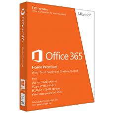 Microsoft Office 365 Home Premium - 1Yr Subscription 5PC's Software