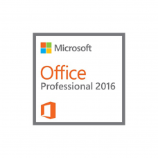 Microsoft Office 2016 Professional - License for 1PC Software