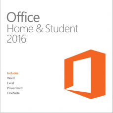 Microsoft Office Home & Student 2016 - License for 1PC Software