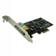 Approx 5.1 Soundcard - 3D - PCI Express Sound Card