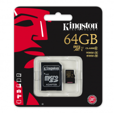 64GB kingston Micro SD card TV Tuner And SD Mirco Cards