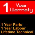12 Month Warranty - 12 Month Parts