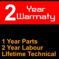 24 Month Warranty - 12 Month Parts +£57.17