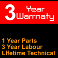 36 Month Warranty - 12 Month Parts +£89.28