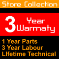 Collect from Store 3 Year Warranty Free