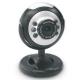 WCA-M1100M SPIRE USB2.0 WEBCAM, MIC, 6 LEDS, PLUG & PLAY,_x000D_ BLISTER PACK Webcams